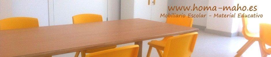 Mobiliario Escolar Infantil - Equipamiento para Guarderias