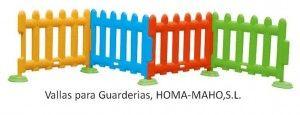 VALLAS PARA GUARDERIAS HOMA-MAHO